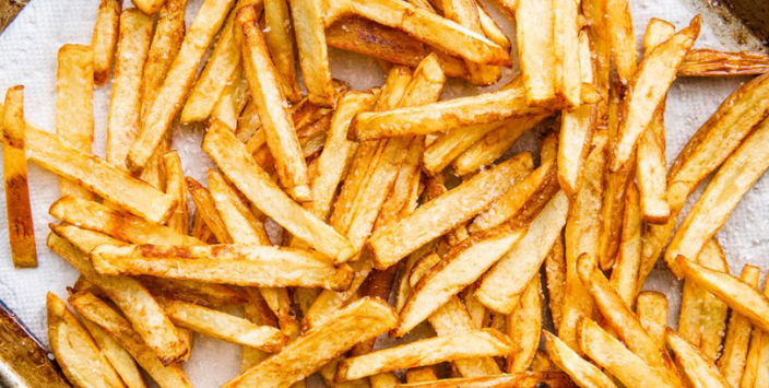 Mathematics of French fries